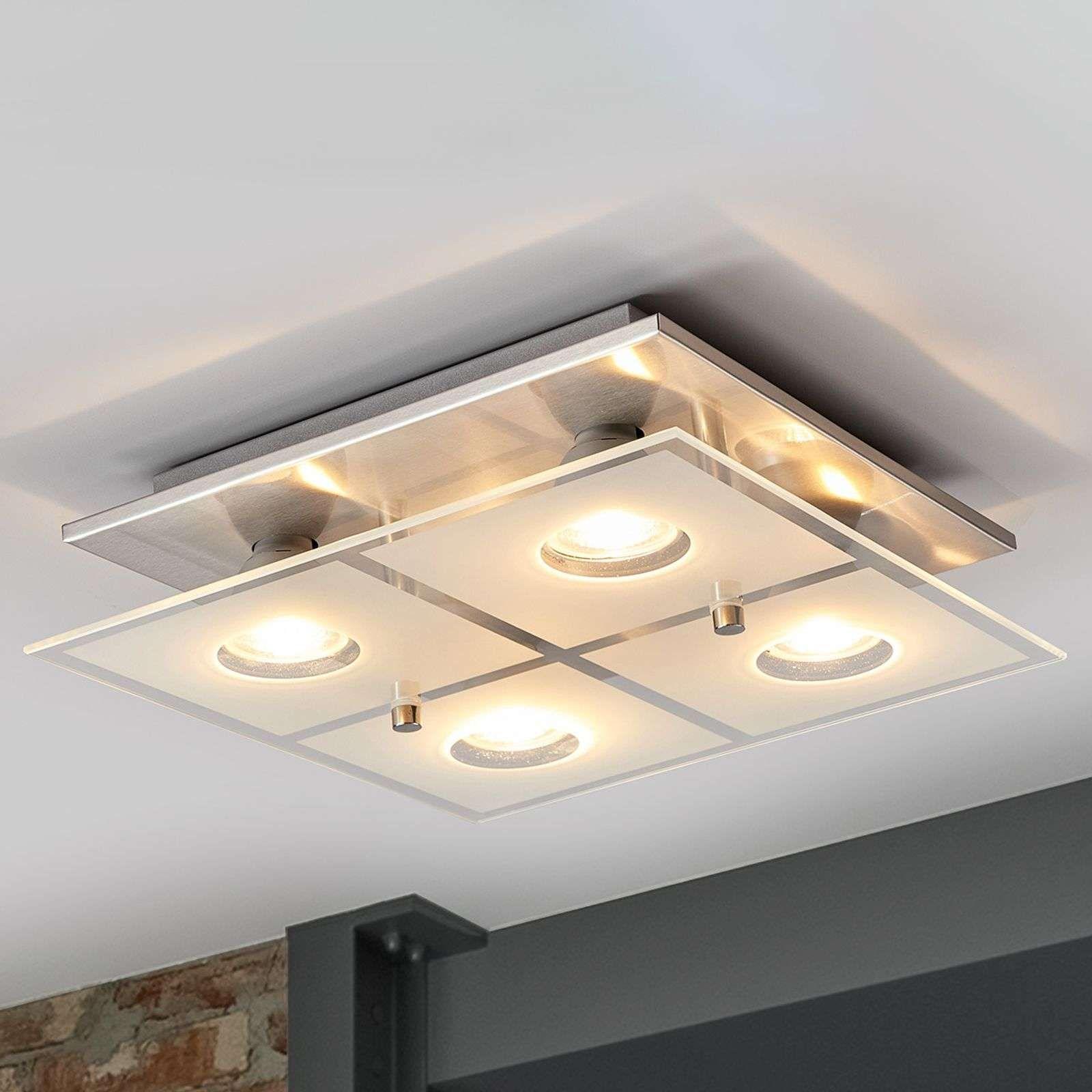 deckenlampen büro günstig  helle deckenleuchte wohnzimmer  led
