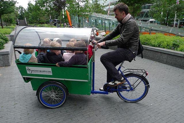 Workcycles Kdv Bike School Bus 2 Bike Cargo Bike Family Bike