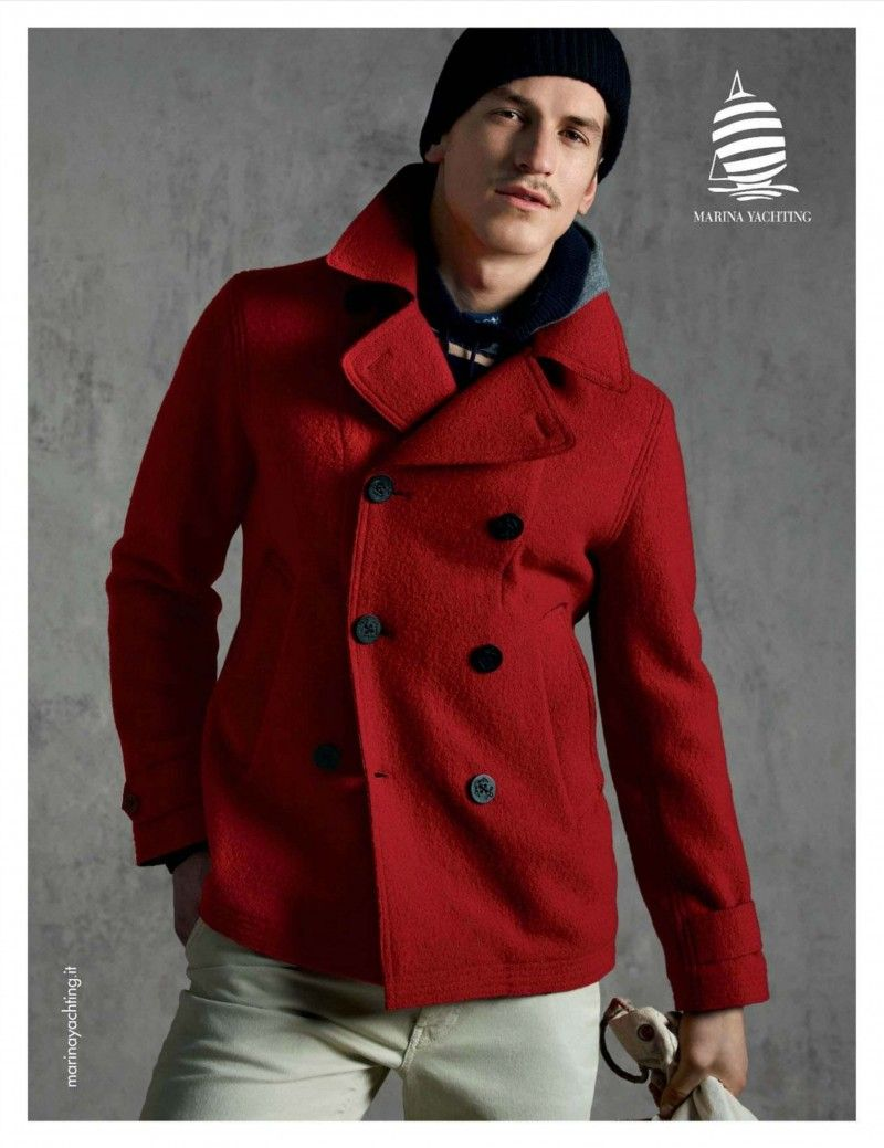size 40 18049 d2382 Jarrod Scott is Striking in Red for Marina Yachting Fall ...