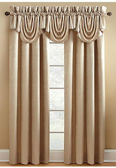 Croscill Exeter Lined Valance Online Only Contemporary Bedroom