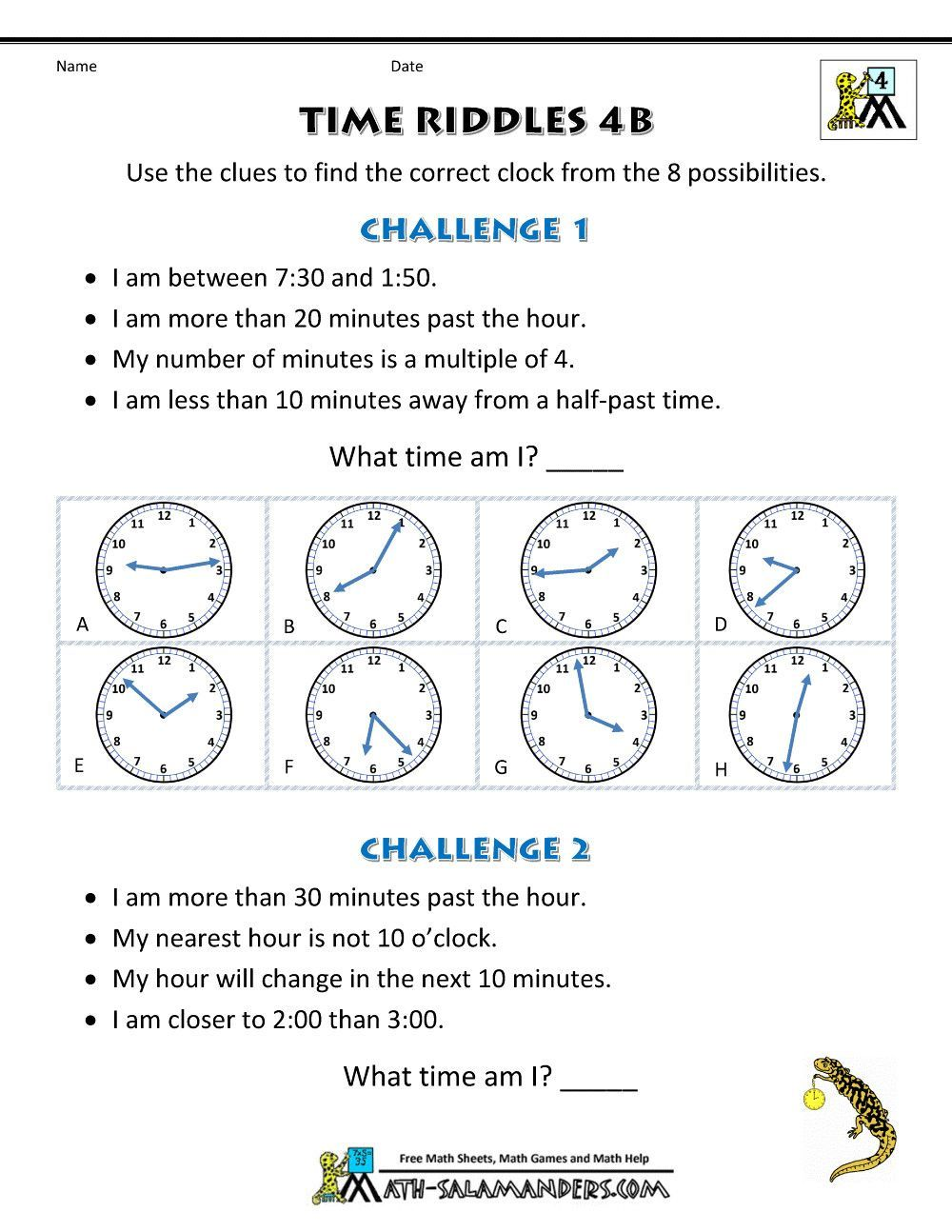 2 Free Elapsed Time Worksheets No Hands 001 Time Worksheet Time Riddles Harder Worksheets Worksheets In 2020 Time Worksheets Telling Time Worksheets Math Worksheets