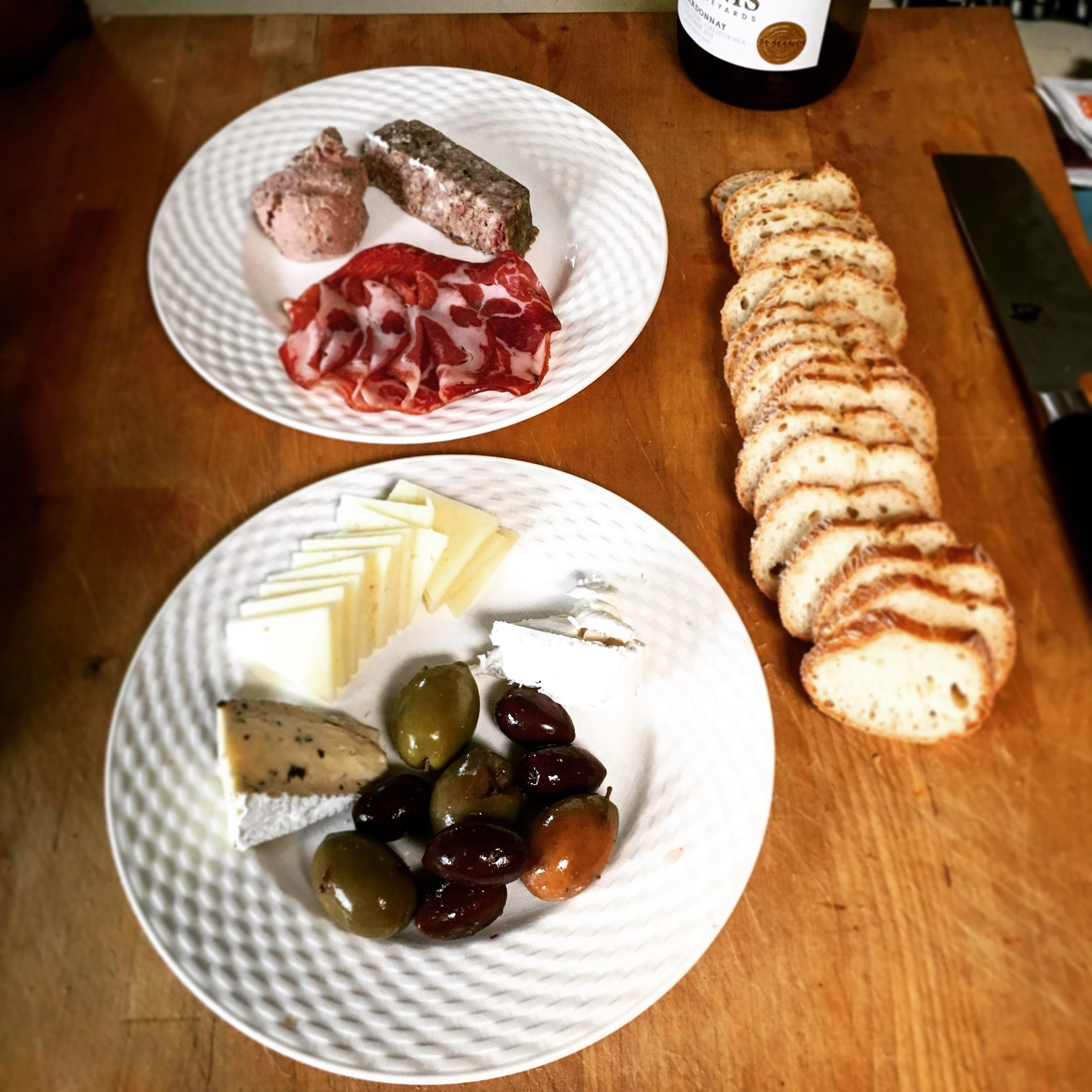 [Homemade] Charcuterie Plate Because Saturdays Are For Being Fancy #Recipes