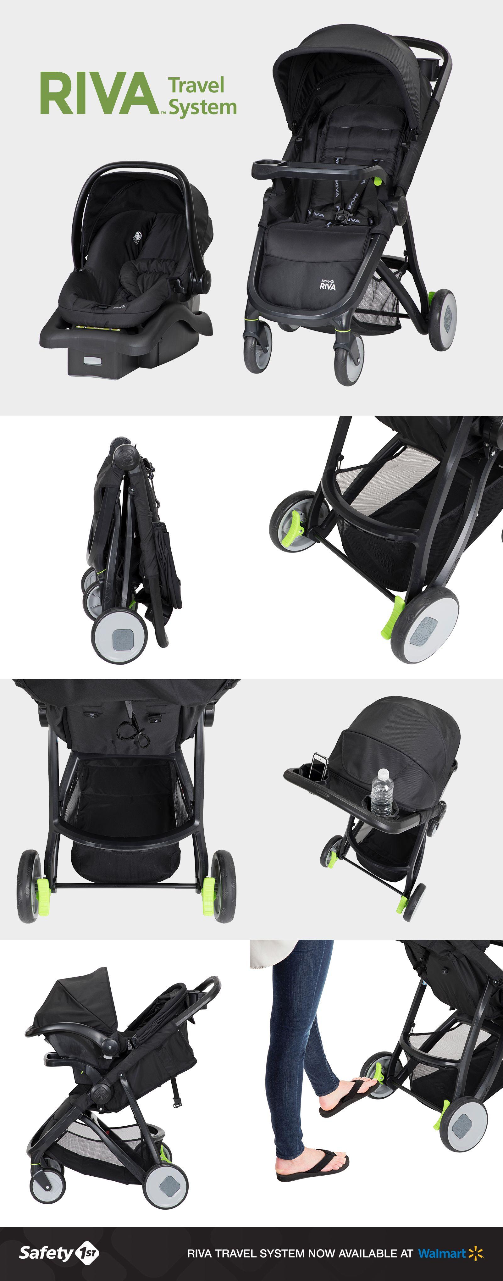 RIVA™ Ultra Lightweight Travel System Stroller Travel