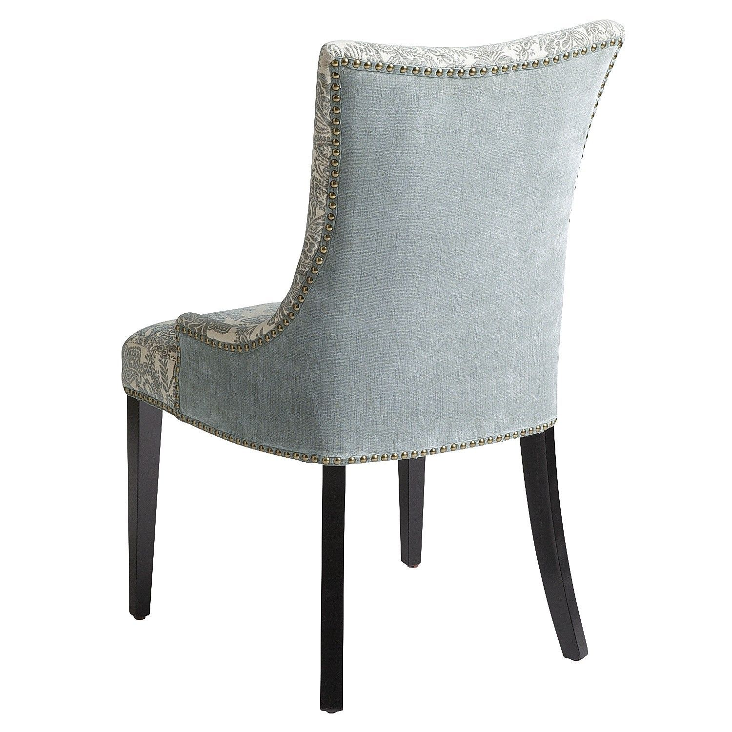 Adelle dining chair blue damask pier 1 imports colored dining chairs colorful chairs