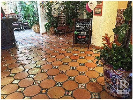 terracotta floor saltillo tile