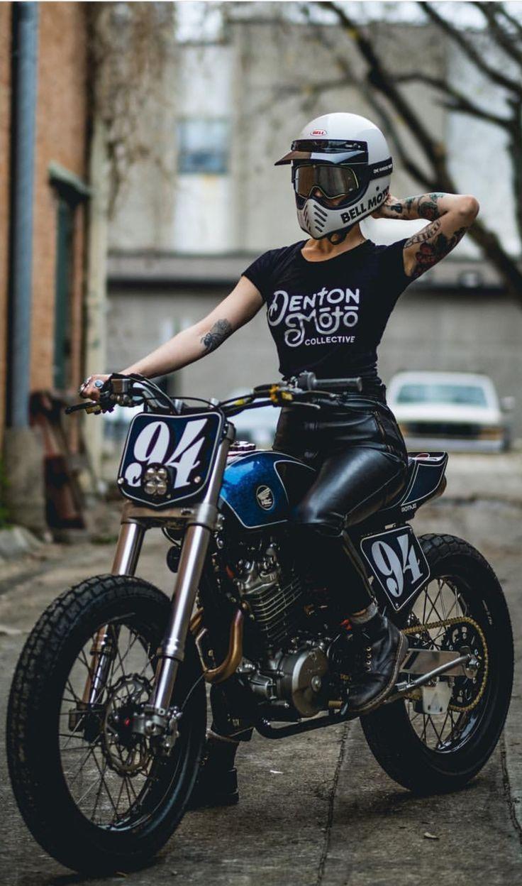 Ein überlegener Honda Flat Tracker von Denton Moto Collective. – #schön #Kolle…