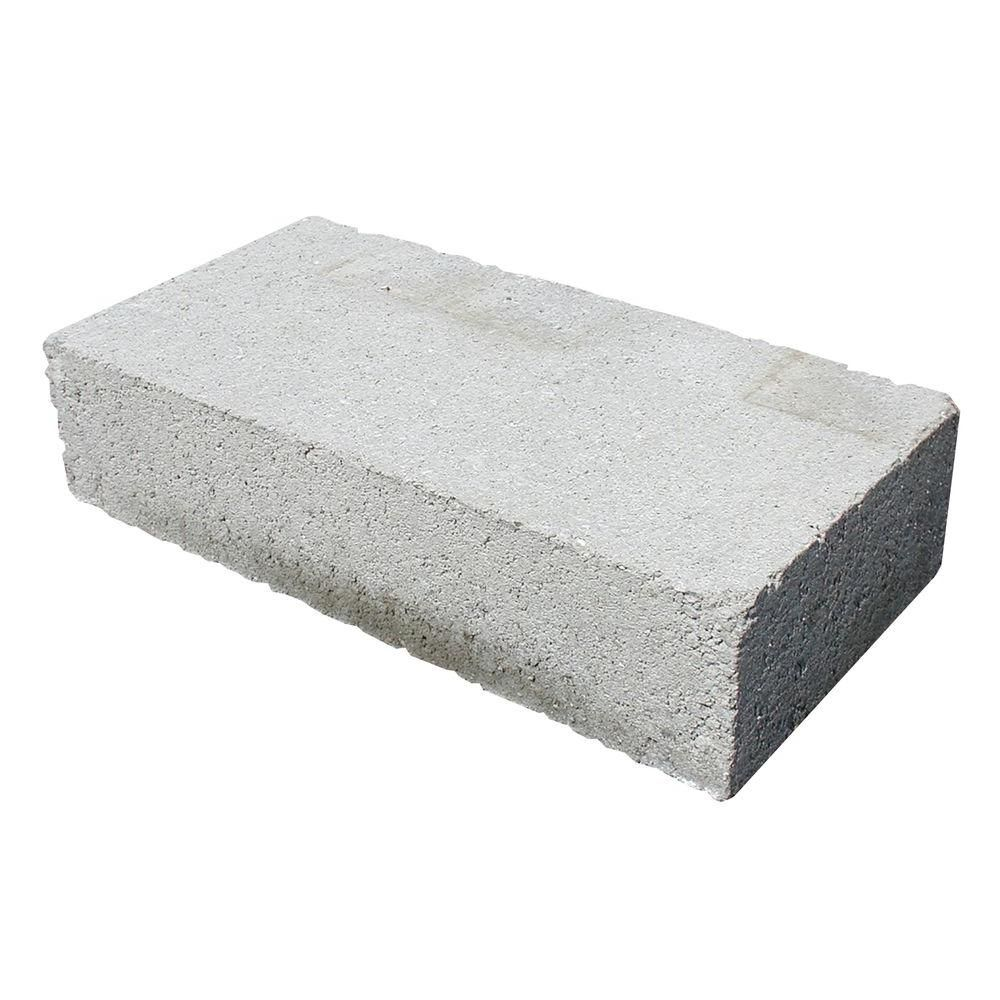 Unbranded 4 In X 8 In X 16 In Solid Concrete Block 30168621 The Home Depot Concrete Blocks Masonry Wall Concrete