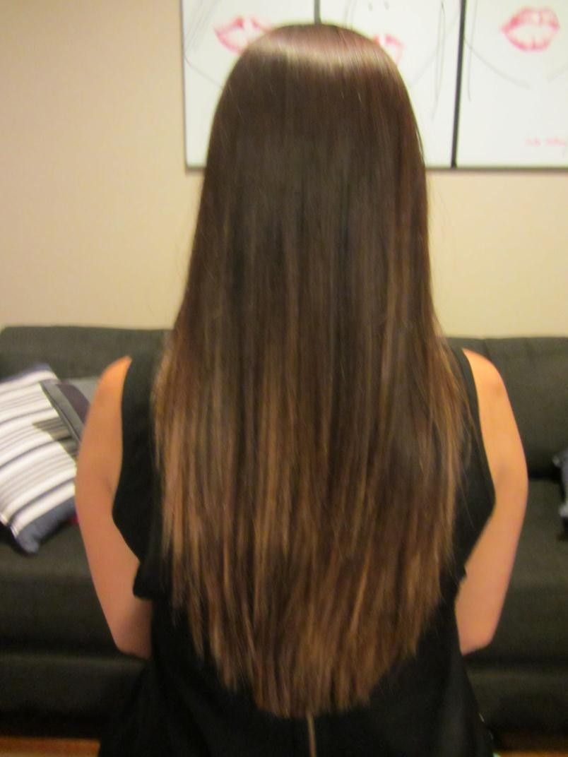 Layered Haircuts For Long Hair Back View Haircuts Gallery