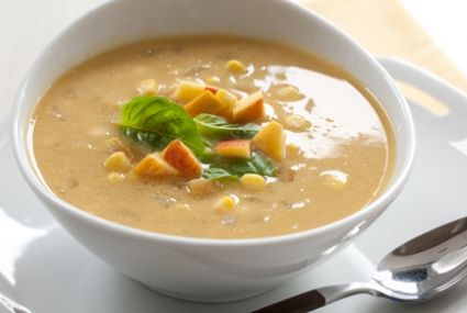 Sweet Corn Soup with Peaches | Whole Foods Market