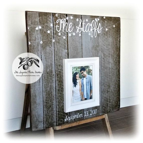 Wedding Guest Book, Rustic Guest Book, 20x20 The Sugared Plums ...