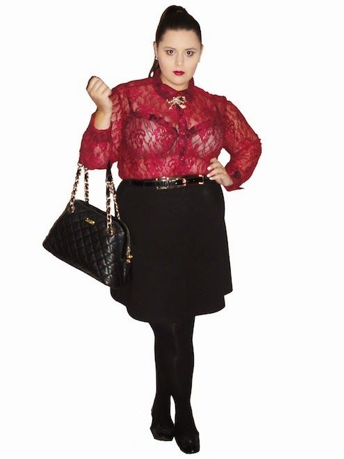 Aussie Curves - Hipster. yELLE Styling. Curvy plus size fashion.