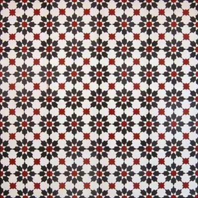 Madrona Collection Encaustic Concrete Tile In Aruba Pattern