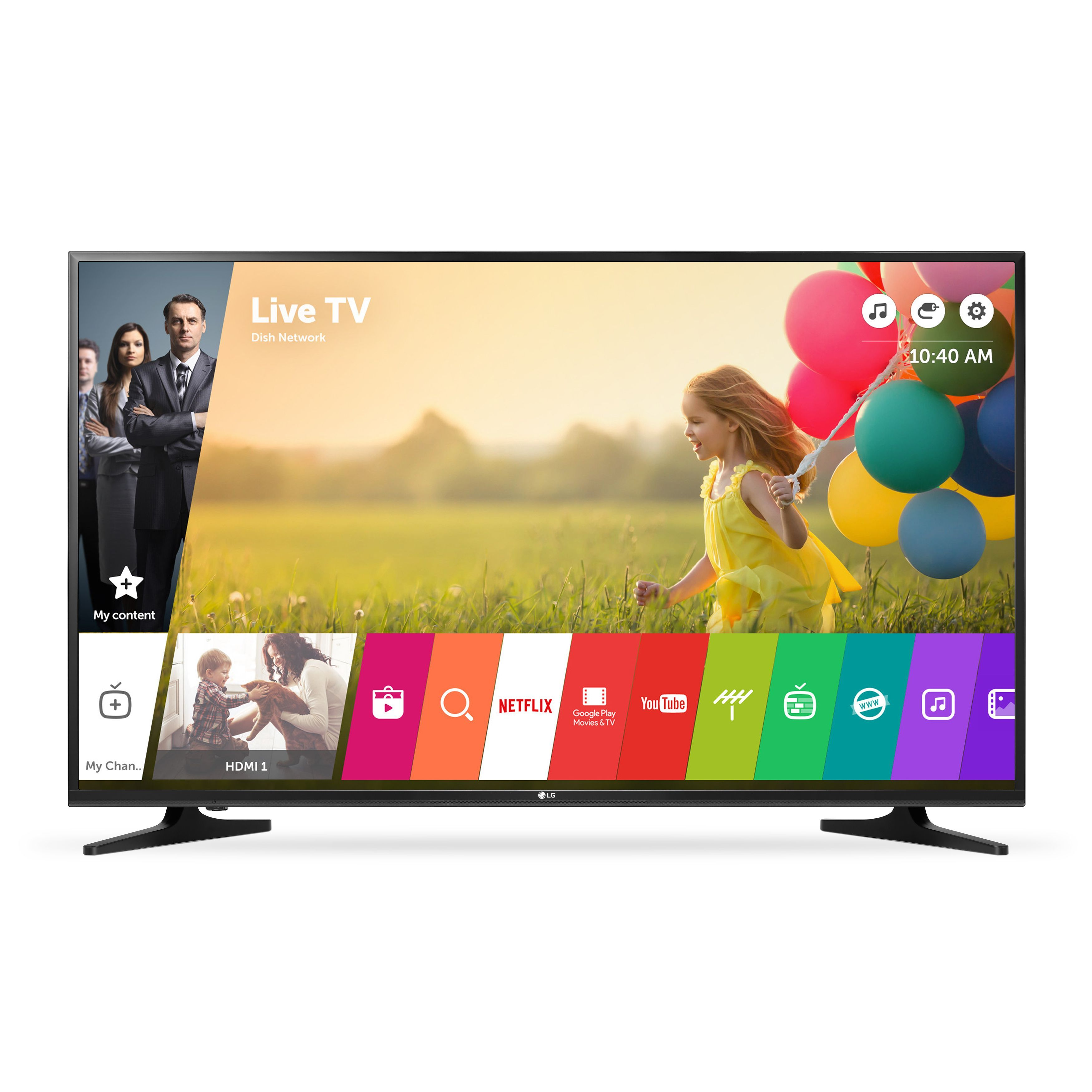 48e6fd2eb LG 50UH5500 50-inch Class 4K UHD LED Television With Smart TV