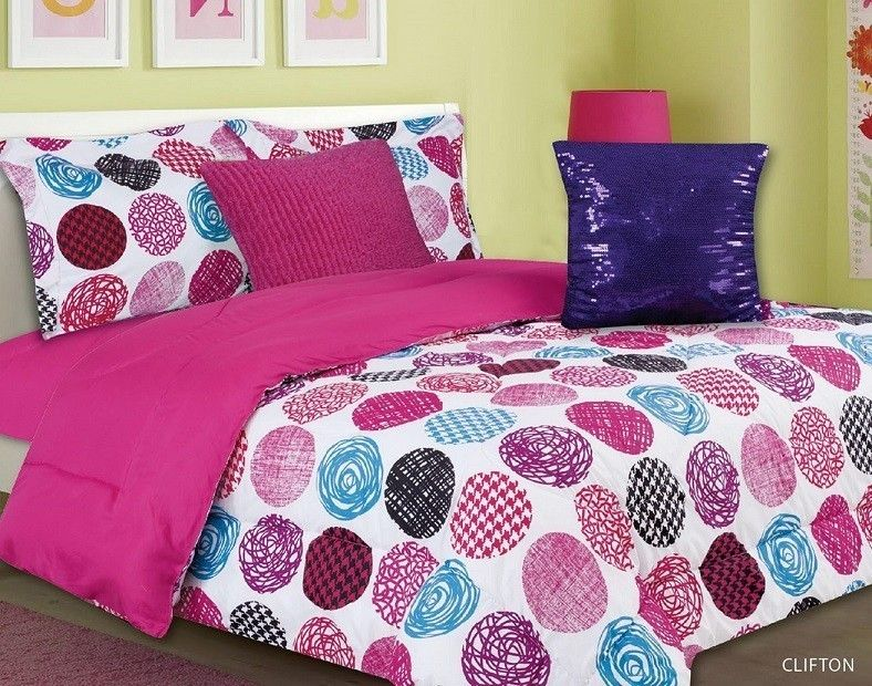 Captivating With Love Home Decor   Girls Kids Bedding  Clifton Multi Color Bed In A Bag
