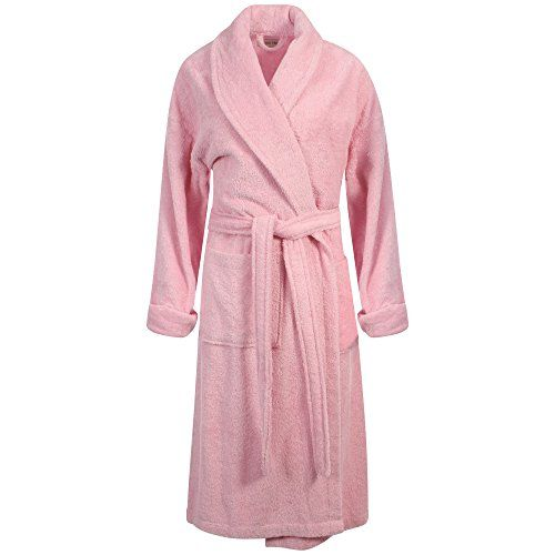 Womens Terry Towelling Bath Spa Dressing Gown Robe Luxury Turkish (S ...