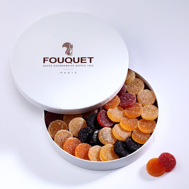 Boîte assortiment de pâtes de fruits FOUQUET, cliquez sur l'image pour shopper #bazarchic #fouquet #pates #fruit #bonbon #candies #sweet #food