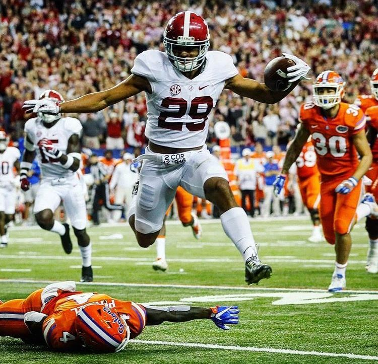 Minkah Fitzpatrick returns Int for TD in the 2016 SEC