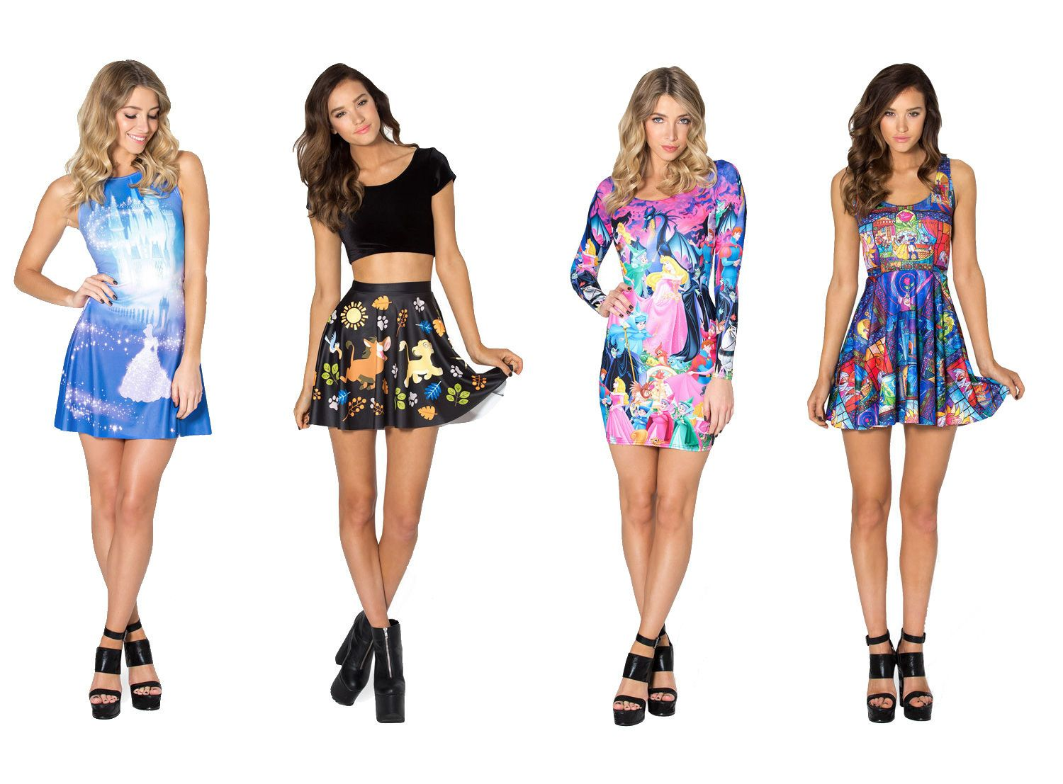 Now Presenting A Disney Princess Themed Clothing Collection For