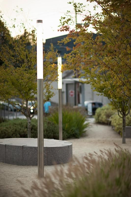 Light Column Pedestrian Lighting At