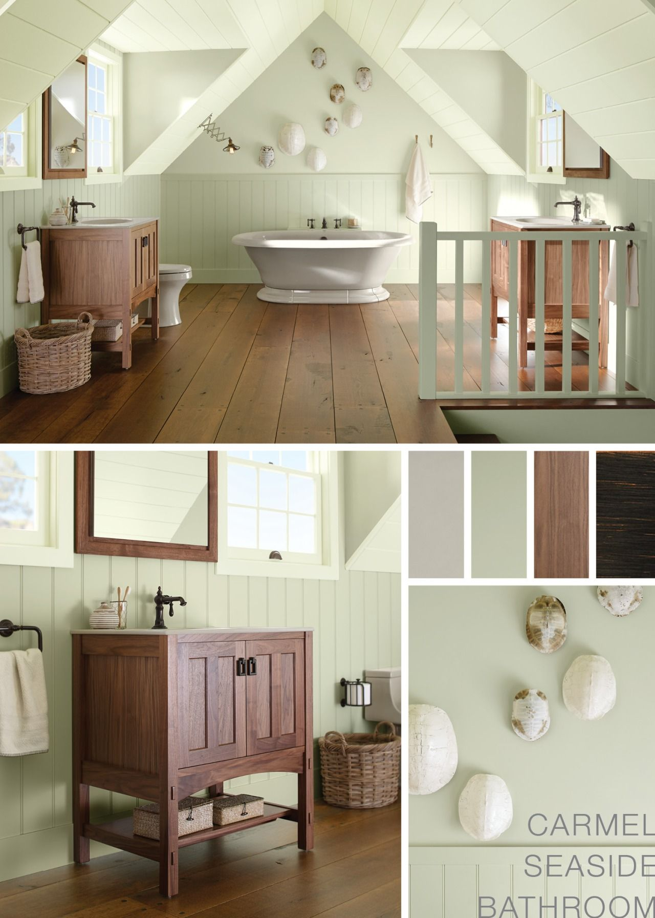 The Bold Look of Craftsman style bathrooms, Craftsman