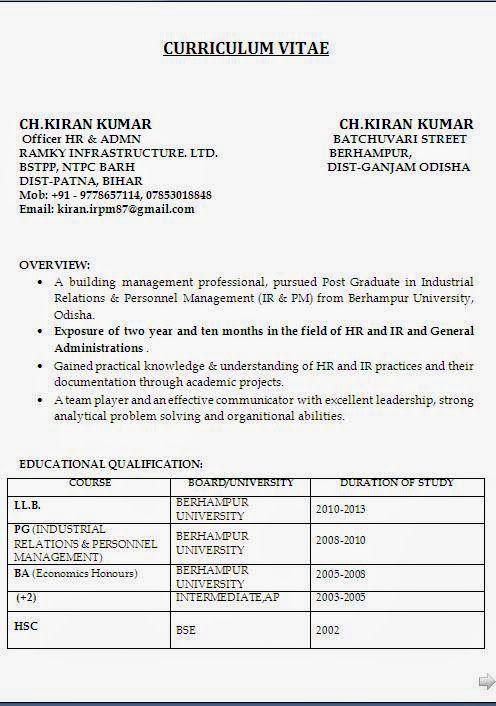 c5n curriculum vitae