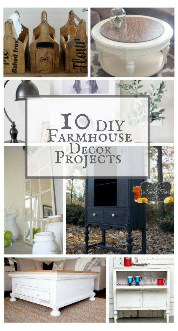 Farmhouse Decor For Living Rooms: 10 DIY Farmhouse Decor Projects To Beautify Your Home