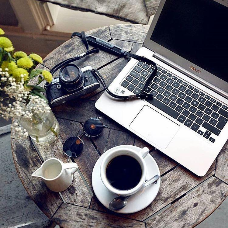красивая картинка ноутбук и кофе первоначальном
