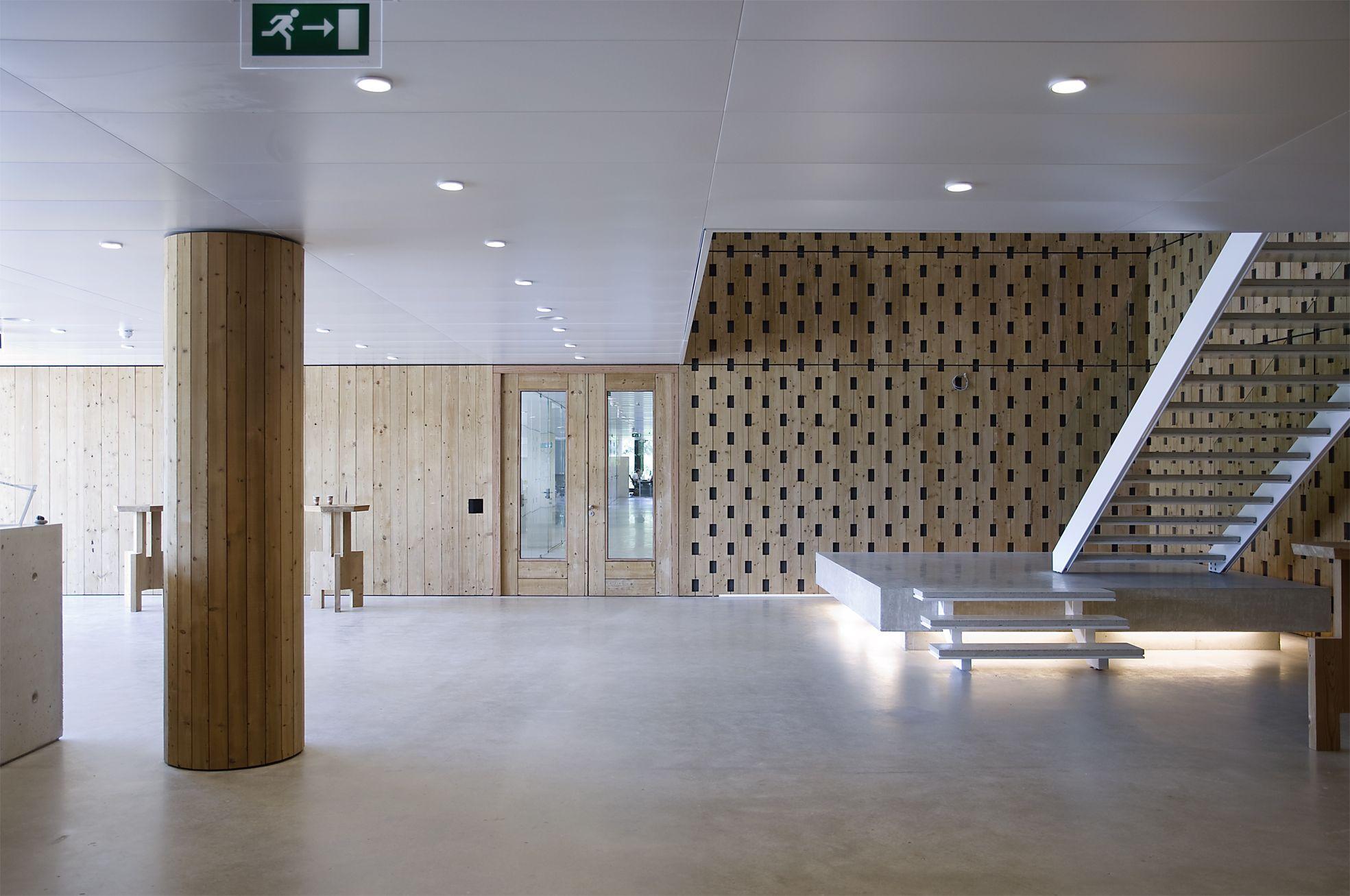 Nioo knaw wageningen nederland claus en kaan architecten for Interieurarchitecten nederland