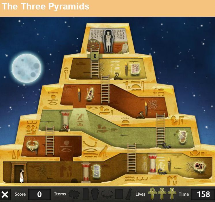 Egypt Pyramid Game