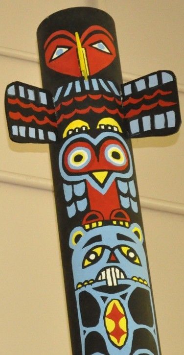 totem pole edventure academy pinterest totems tiki totem and ideas. Black Bedroom Furniture Sets. Home Design Ideas