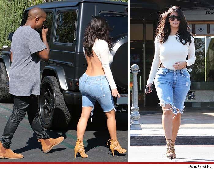 I don't really like Kim or Kanye; but I love Kim's look!