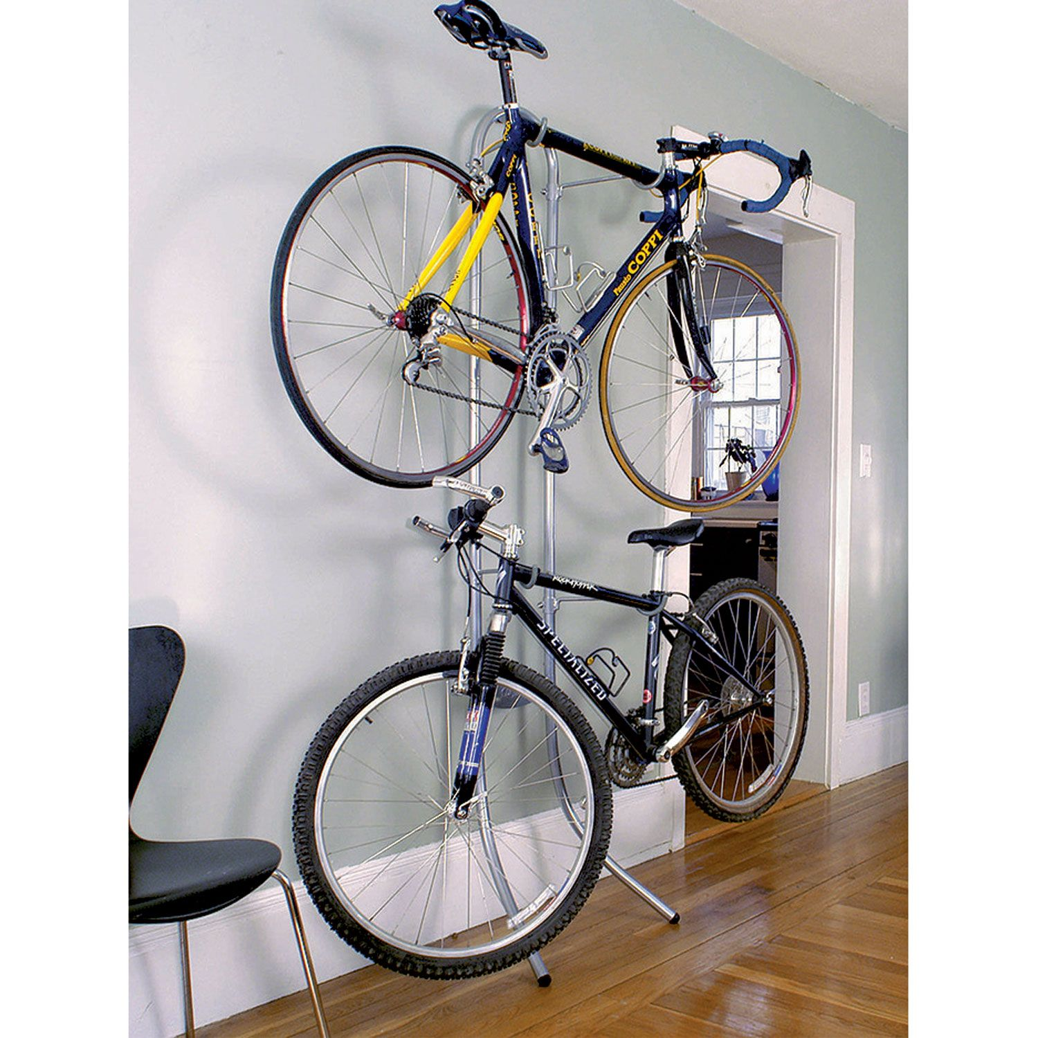 professional sale outlet store good selling Delta Michelangelo 2-Bike Stand - Bike Indoor Storage, 250 ...