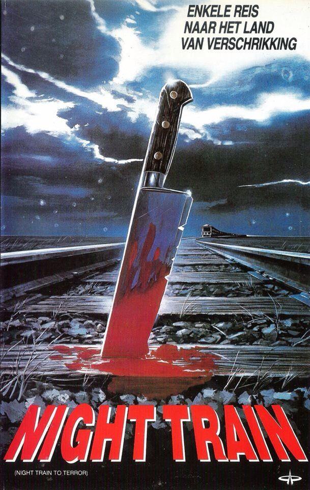Night Train to Terror (1985) poster art Horror movie art