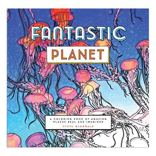 Fantastic Planet Adult Coloring Book