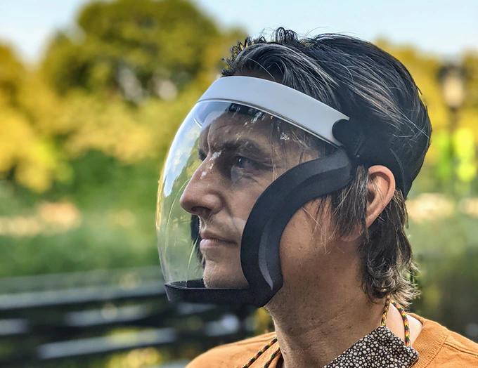 Hybrid Face Mask Face Shield Free Medical Medical Grade Silicone