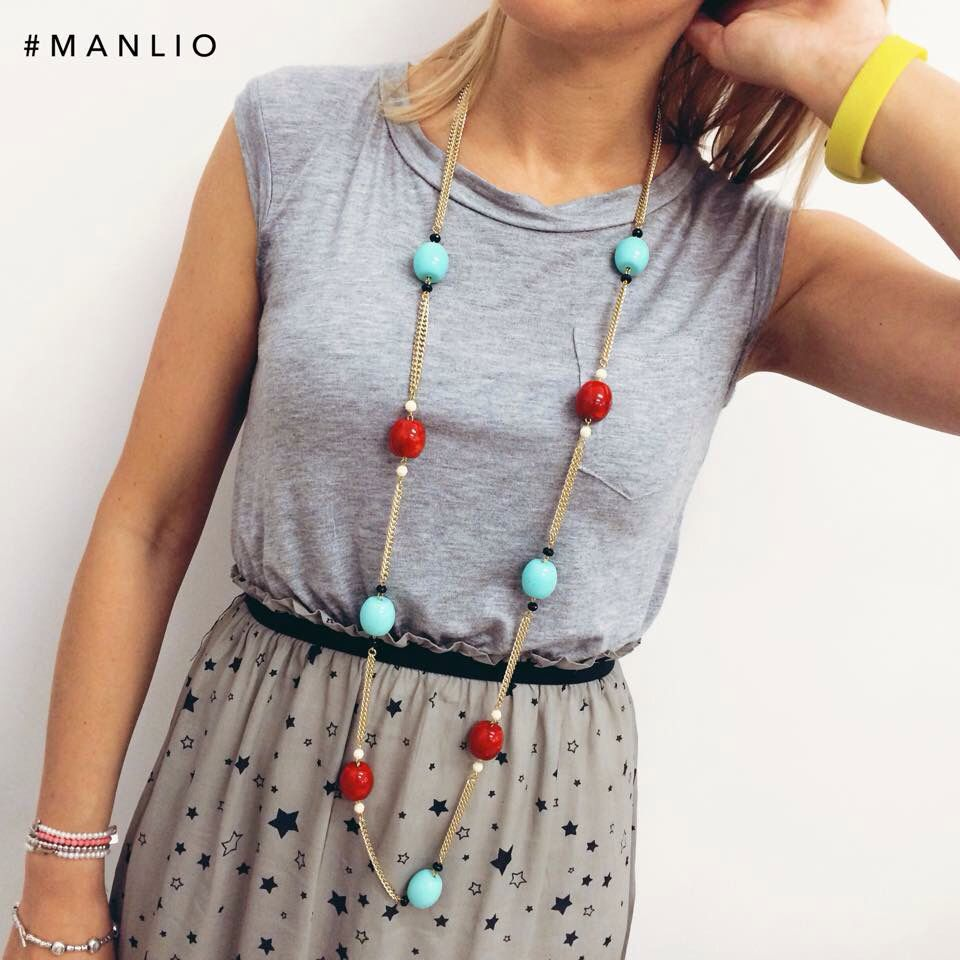 Collana €45  #manlioboutique  Per spedizioni  WhatsApp 329.0010906 #new #summer #necklace
