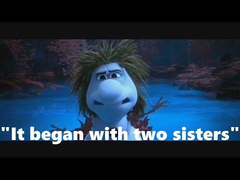 OLAF TELLS A FUNNY STORY OF FROZEN 1 HD FROZEN 2 ELSA ANNA KRISTOFF MEET THE NORTHULDRA & LT MATTIAS