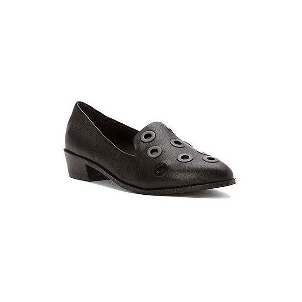 Kelsi Dagger Brooklyn Women's Victory 2 Loafers (185 CAD) ❤ liked on Polyvore featuring shoes, loafers, black, slip on loafer, pull on shoes, slip on shoes, slipon shoes and loafers & moccasins