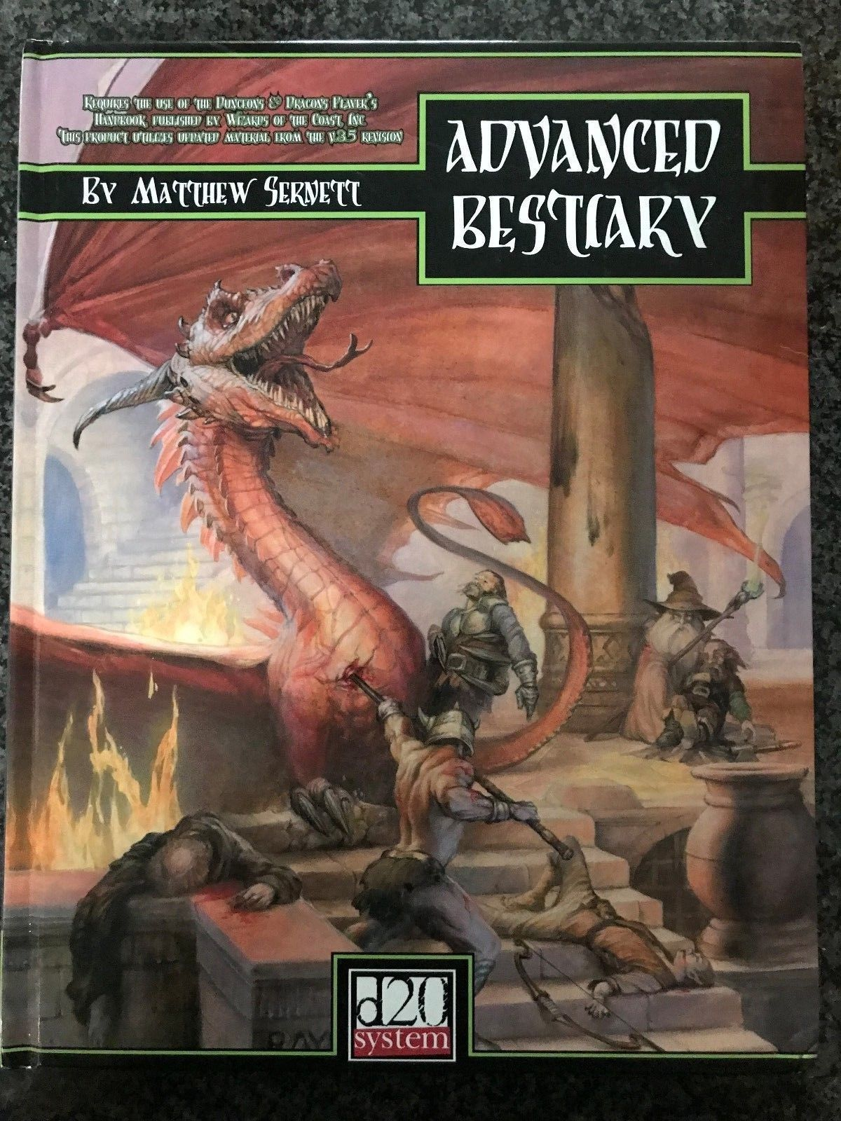 Monster Manuals 158711: Dandd * Advanced Bestiary * Dungeons And Dragons  3.5 3.0 D20 Pathfinder -> BUY IT NOW ONLY: $19.45 on eBay!