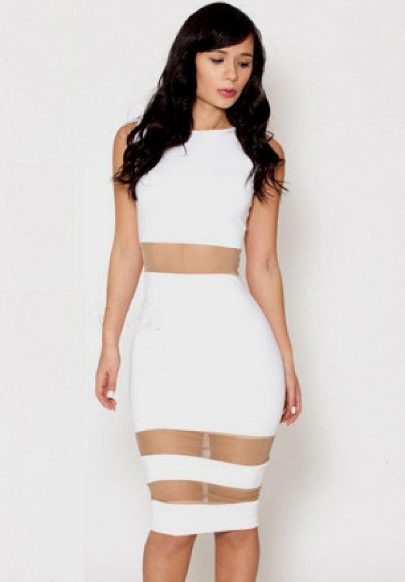 black and white bodycon dress | Tumblr | Bodycon Dresses | Pinterest