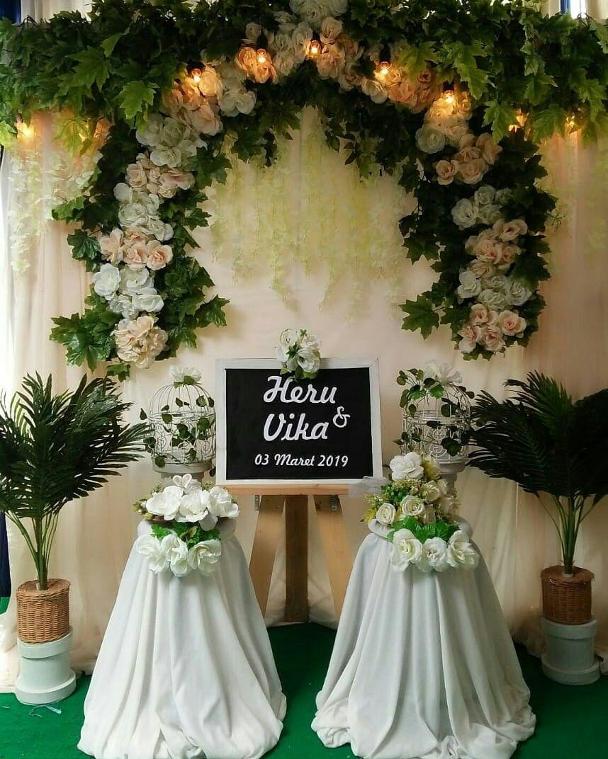 Wedding Gown Surabaya: Butuh Backdrop Unt Acara Lamaran Atau Akad Nikah? Hub WA
