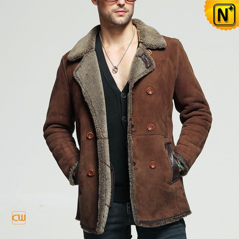 Pinned onto Sheepskin Jackets Coat MensBoard in Men's Fashion ...