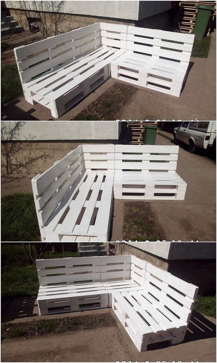 30 Amazing Ideas to Convert Old Wood Pallets into Something Useful #palettenideen