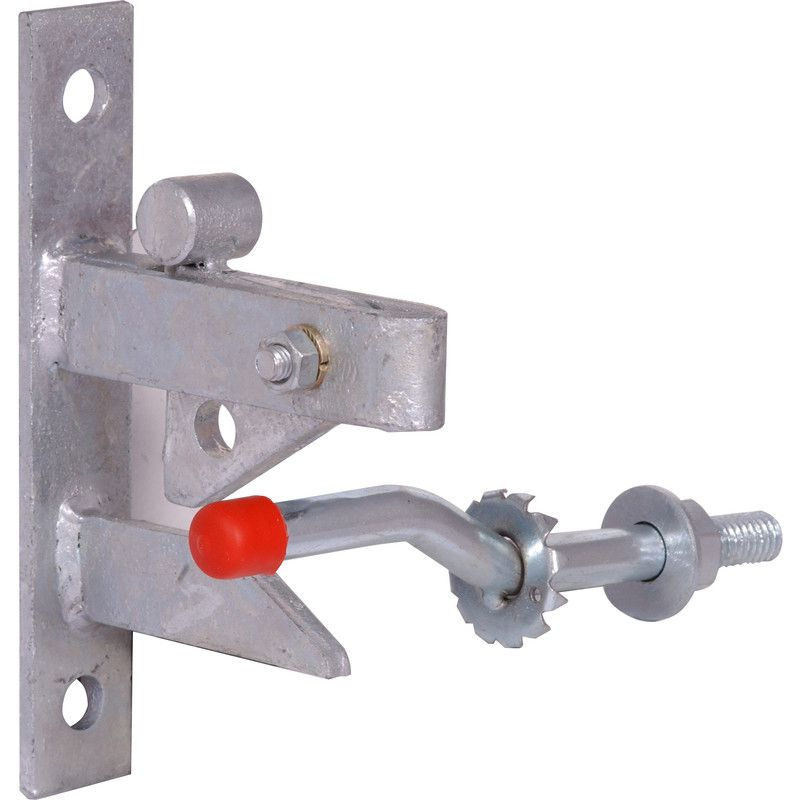 Self Locking Automatic Gravity Latch Fence Weld on Steel Gate Lever