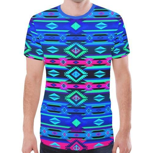 T-shirt Adobe Sunset New All Over Print pour homme (Modèle T45) – XXXL   – Products