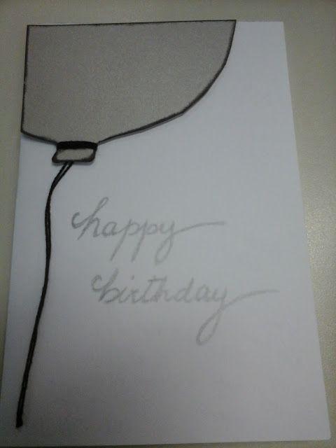 Scrap Maximo: Cartão - aniversário - happy birthday