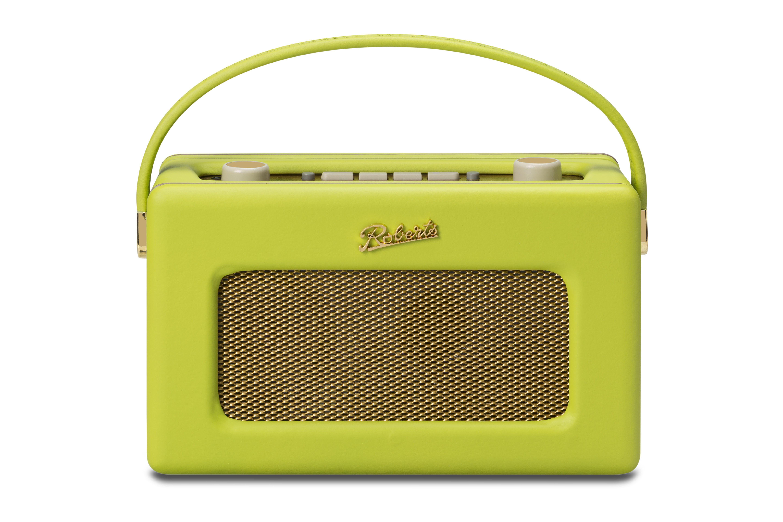 Roberts Radio Lime Green Retro bright vintage radio