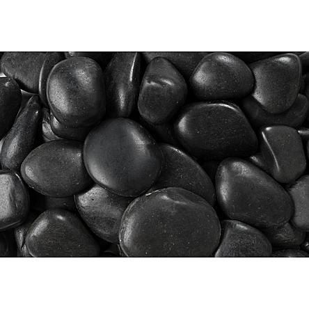 Black River Rocks Natural Black Color Decorative Vase Mexican Beach Pebbles Landscaping With Rocks Black River Rock