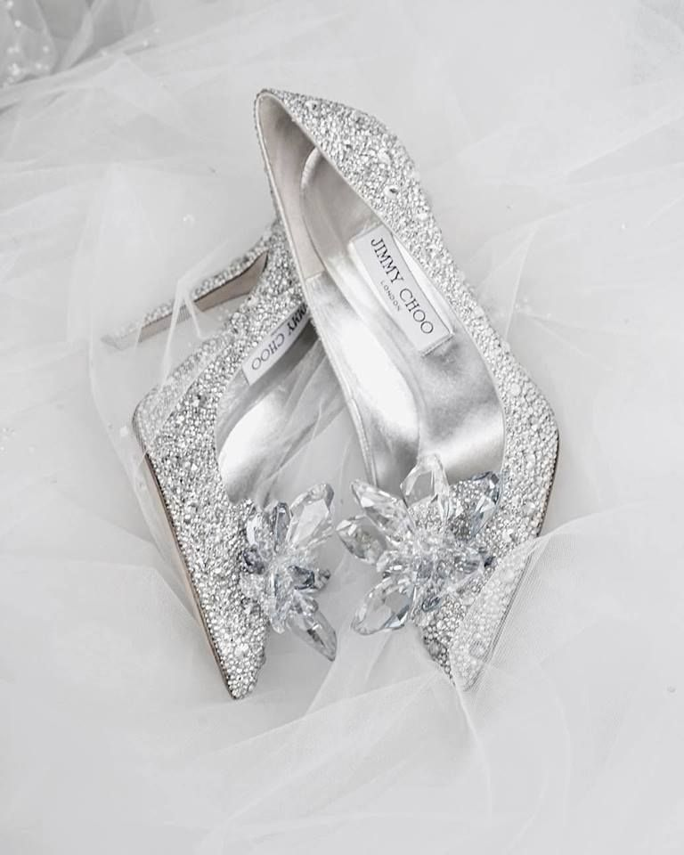 These Sparkly Jimmy Choo Shoes Have To Be The Ultimate Wedding Shoes