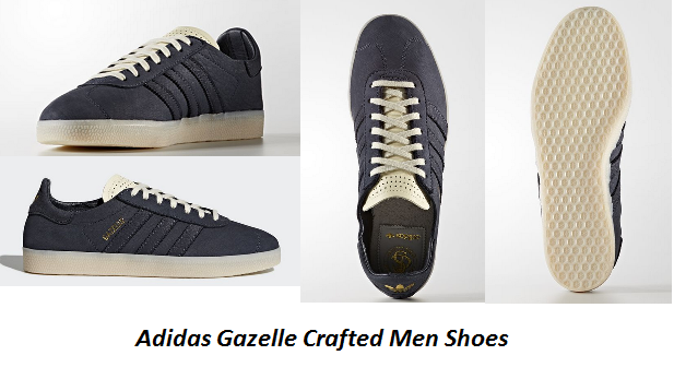 Key features and benefits of the Adidas Gazelle Crafted Men Shoes